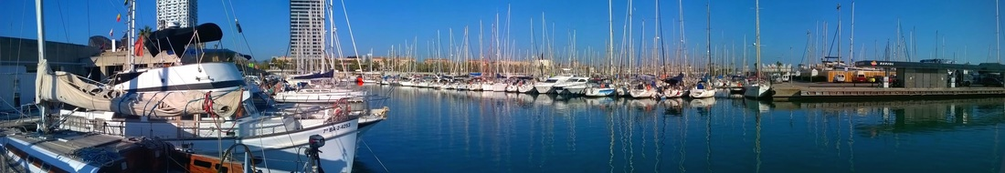 Sailboat for rent in Barcelona Port Olimpic