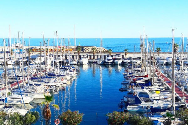 View of the Marina Sitges-Aiguadolç