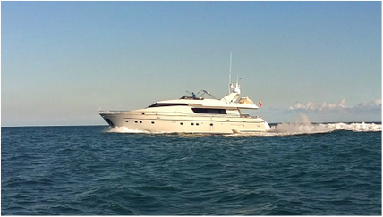 Motor Yacht for rent San Lorenzo 82 cruising